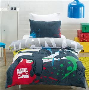 Marvel Comics Spiderman Amp Captain America Double Full Bed