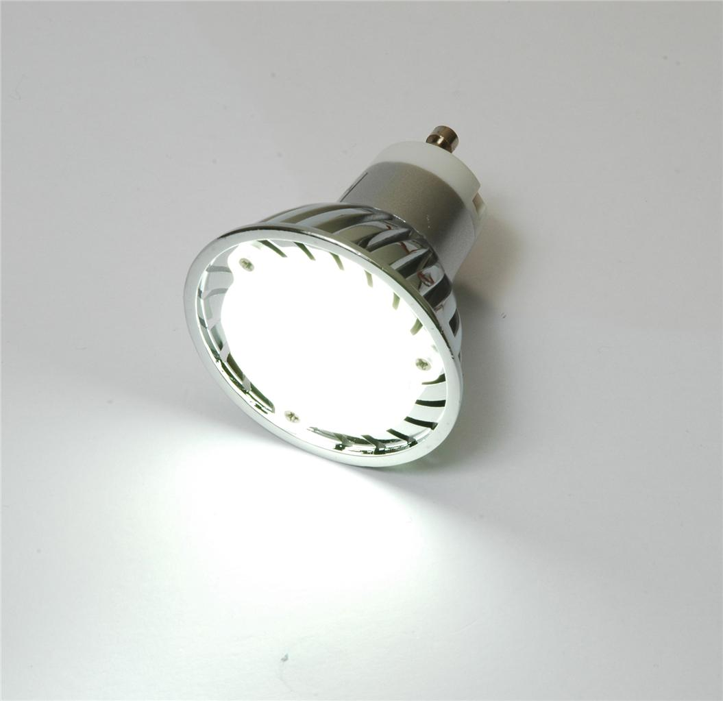 recess track rail light led bulb gu10 cool white replacement for halogen 50w ebay. Black Bedroom Furniture Sets. Home Design Ideas