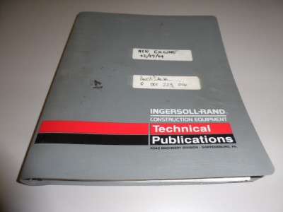 Dd24 Ingersoll Rand Service manual on