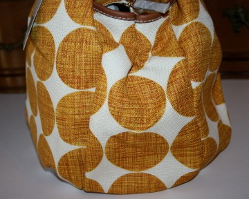 Kate Spade Hinkley Karen Orange Dot Large Handbag Satchel WKRU1736