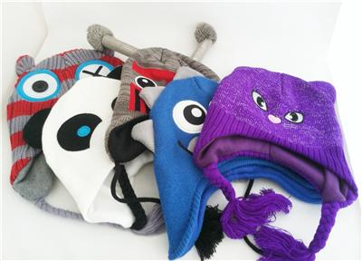 For Adult animal plush hat pattern with