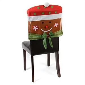 Beautiful Gingerbread Man Chair Cover Christmas Chair