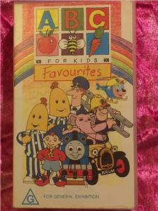 abc for kids favourites your favourite characters vhs video tape pal ebay. Black Bedroom Furniture Sets. Home Design Ideas