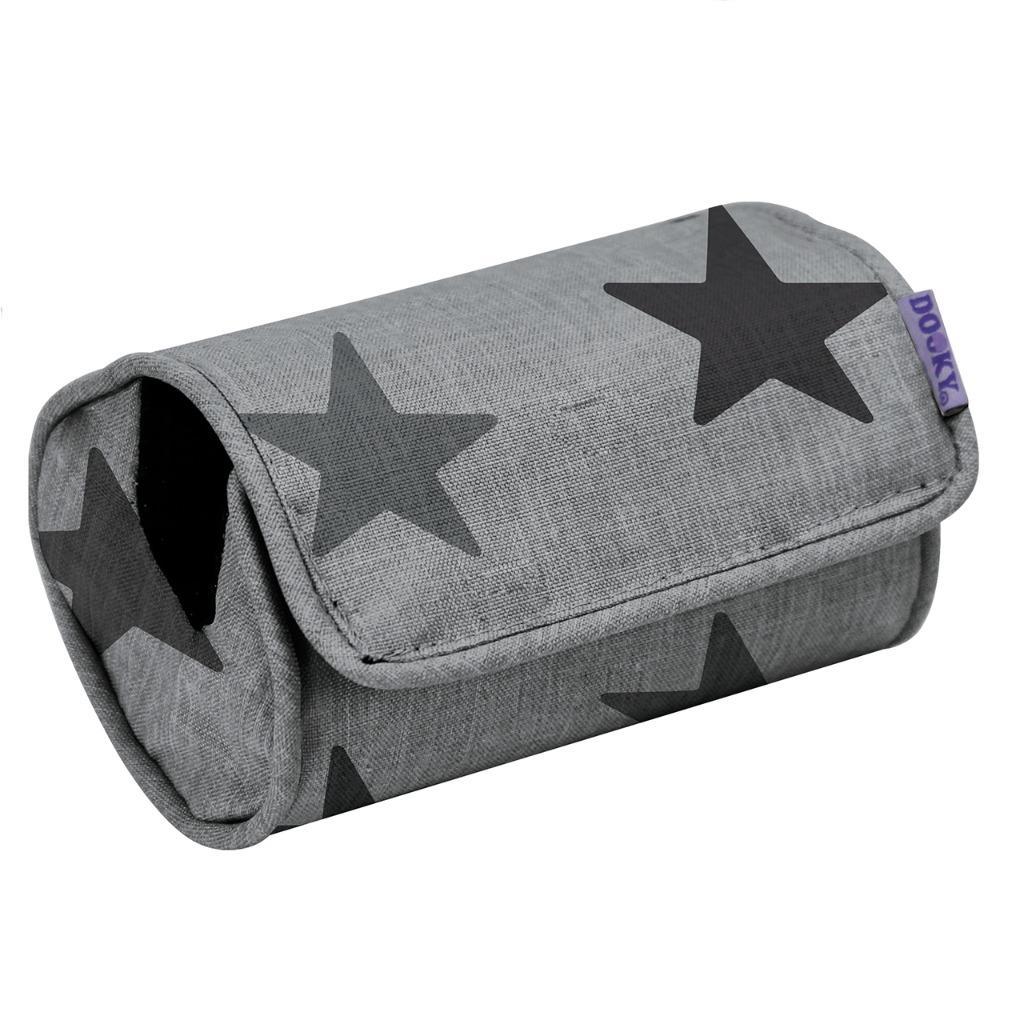 Dooky Baby Car Seat Arm Cushion Crowns Grey