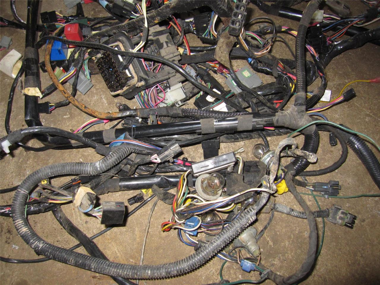 96 jeep cherokee under hood fuse box diagram jeep cherokee under dash wiring jeep cherokee complete interior wiring harness under dash ...
