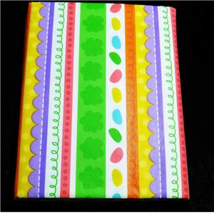 Easter Or Spring Tablecloth Vinyl Flannel Back 52 Quot X 70