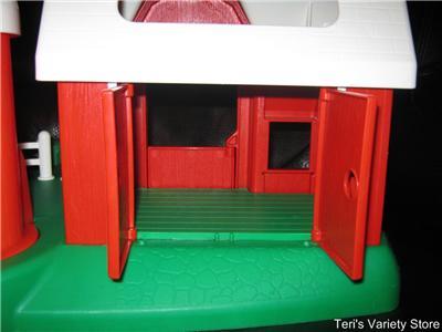 Vintage Little Tikes Barn Amp Petting Zoo Pretend Play