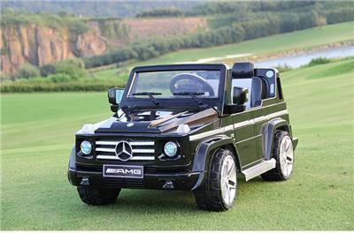 Licensed Mercedes Benz G55 AMG Kids Ride on Power Wheels Battery Toy Car Black