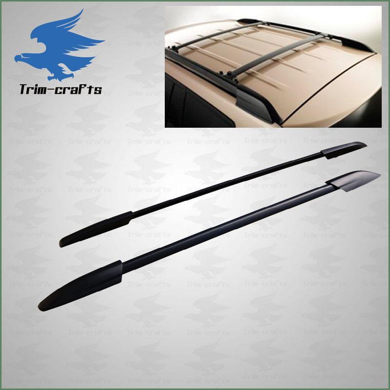 Roof Rack Side Rails: 08+Toyota Black Highlander Roof Rack Side Rails Bars
