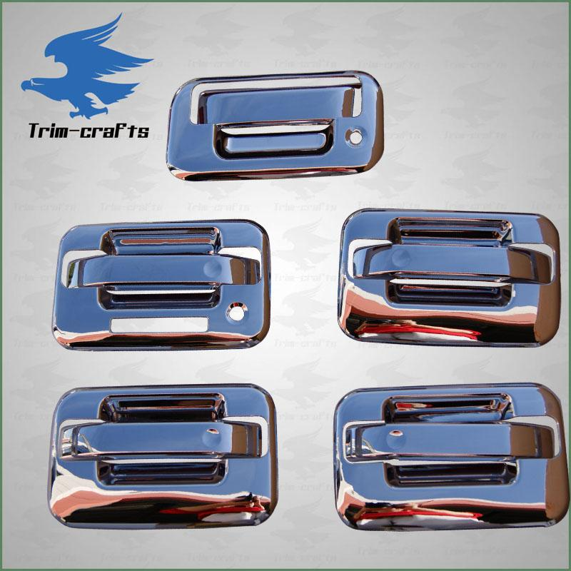 04 11 Ford F150 Chrome Door Handle Tailgate Covers Trim