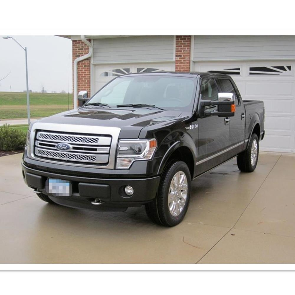 chrome 99 07 ford super duty f250 f550 power heated turn signal mirrors ebay. Black Bedroom Furniture Sets. Home Design Ideas