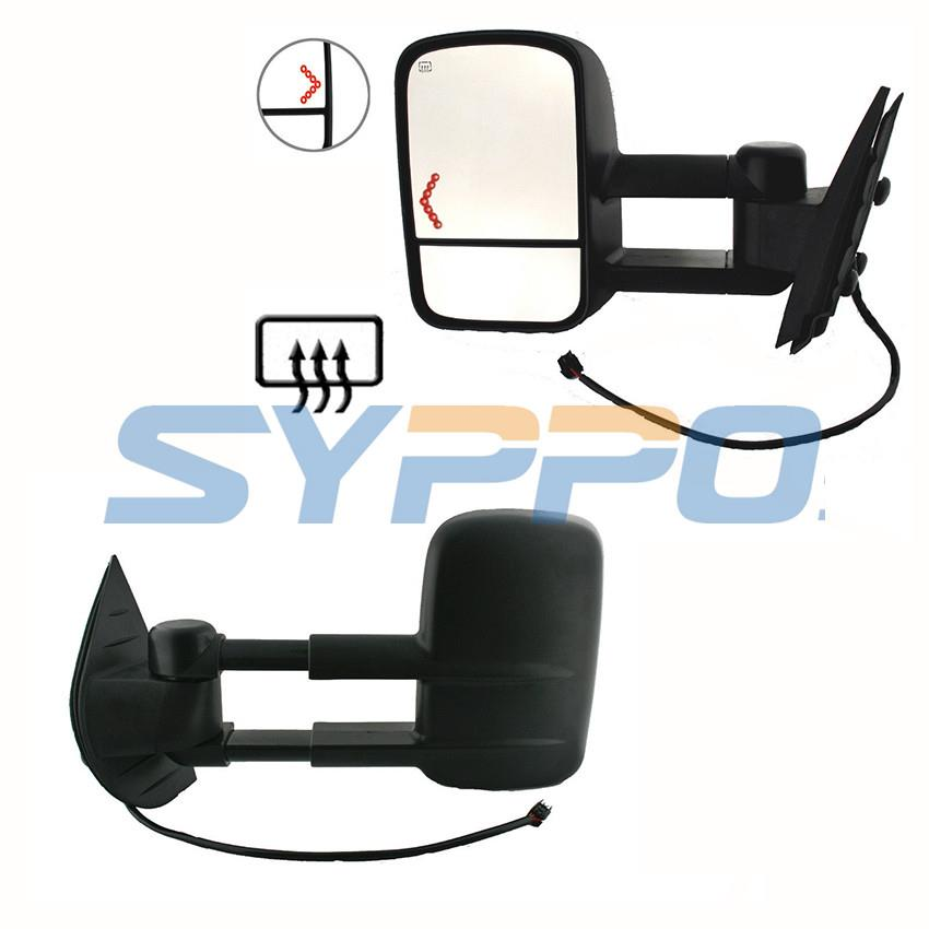 Power Heated Signals Lh Rh Towing Mirrors For 07 13