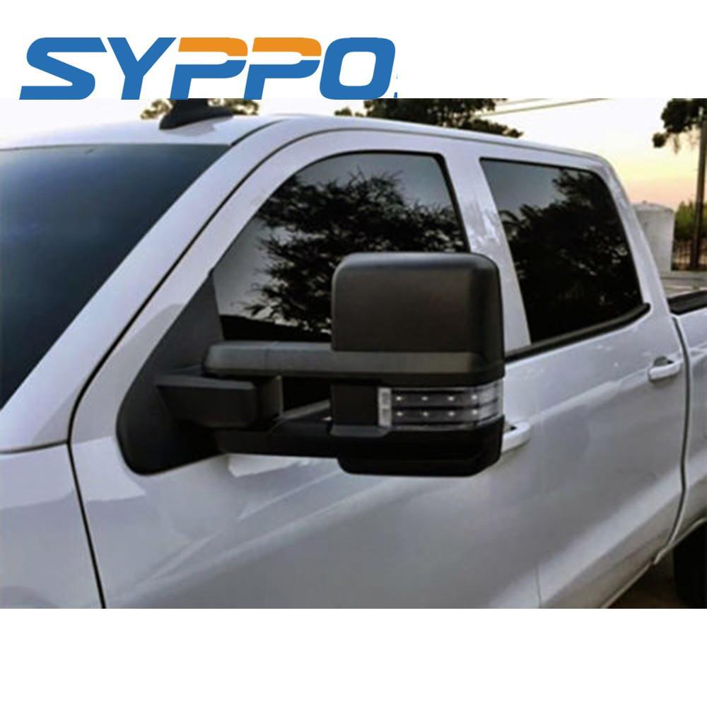03 07 Chevy Gmc Power Heated Smoke Led Signal Backup Light