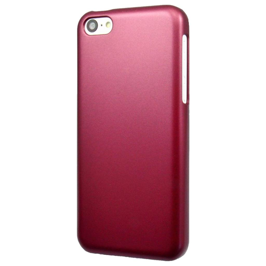 phone case for iphone 5c new thin metallic colors back phone cover for 1131
