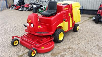 Used Gianni Ferrari Tg Tech 18hp 44 Quot Out Front Ride On Mower Hi Tip Collection Ebay