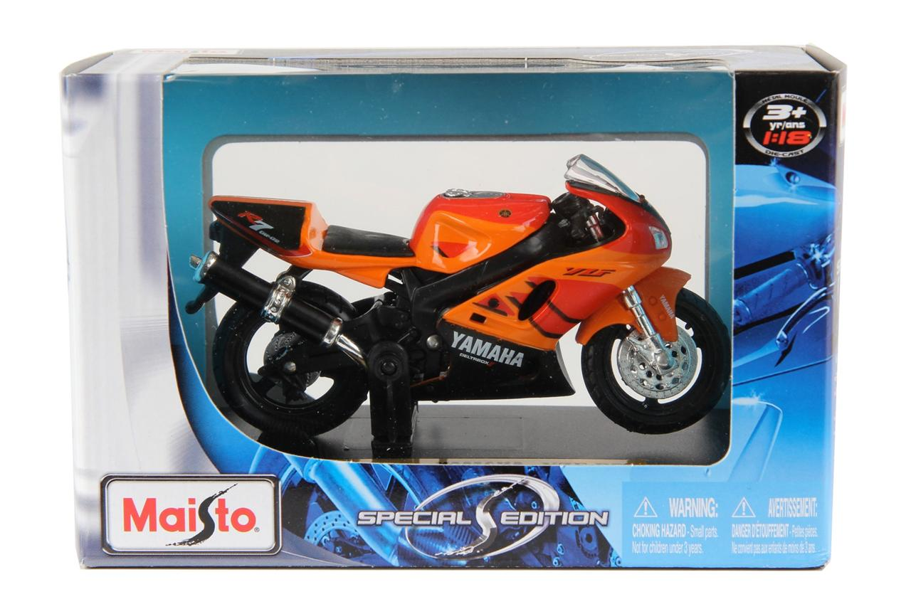 yamaha yz 450f motorbike maisto diecast 1 18 scale special. Black Bedroom Furniture Sets. Home Design Ideas
