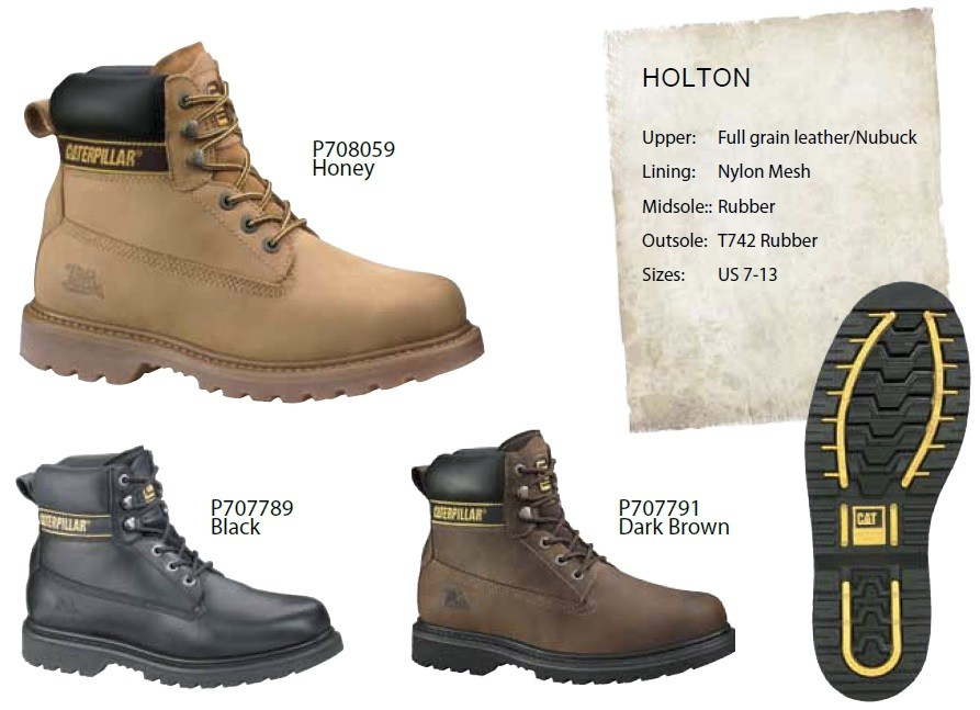 New 100 Genuine Caterpillar Mens Non Safety Boot Boots