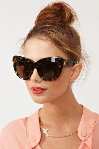 051bd07d15 Details about Big Oversized Chelsea Niki Cat Eye Boho Huge Womens Sunglasses
