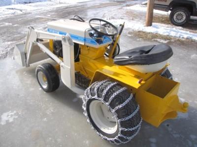 International Harvester Cub Cadet Tractor DANCO Loader Kohler Engine