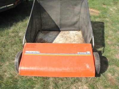 Case Ingersoll Tractor 38 Quot Hi Sweep Lawn Sweeper For