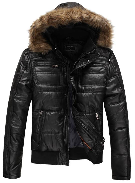Van Fashion New Zara Man Winter Outdoor Coat Hoody Pu