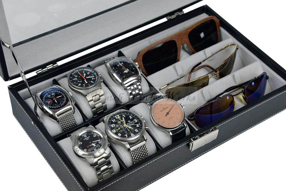 Luxury Watch Amp Sunglasses Organiser Collection Case Model