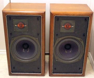 vintage large advent speakers pristine ebay. Black Bedroom Furniture Sets. Home Design Ideas
