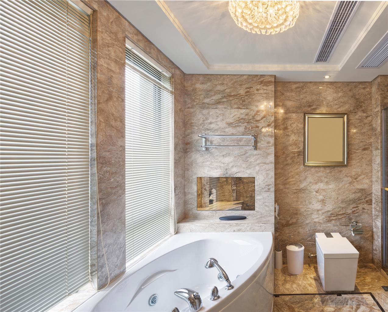 "19""SARASON 2020 Waterproof Bathroom LED Mirror SMART TV ..."