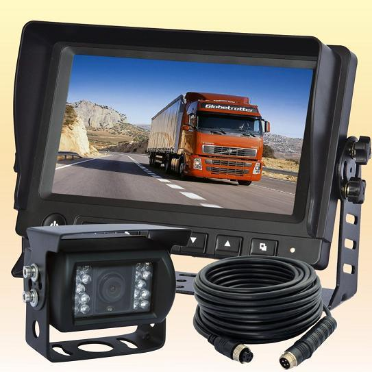 """7/"""" Agriculture Backup Camera System 2 Reversing Cameras for Farm Tractor"""