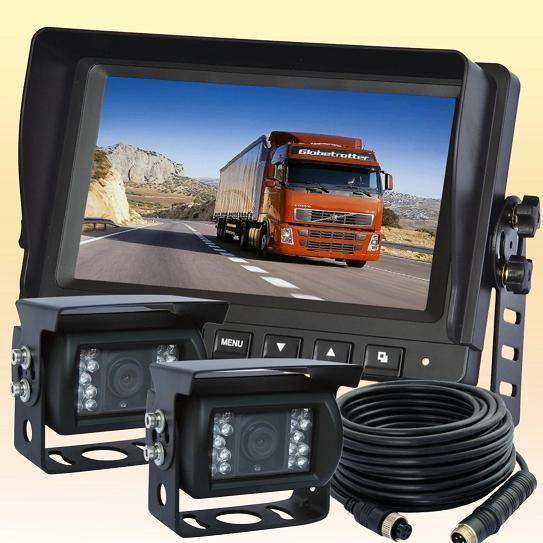 7 Digital Rear View Backup Reverse Camera System for Skid Steers Agriculture