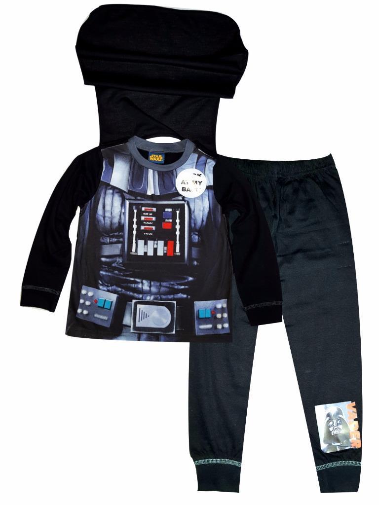 STAR Wars Nightwear Pigiama Sleepwear Set Nuovo Ragazzi e Ragazze Età 8 10