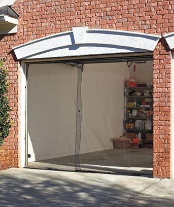 New Garage Screen Door Single Or Double Bug Mosquito Net