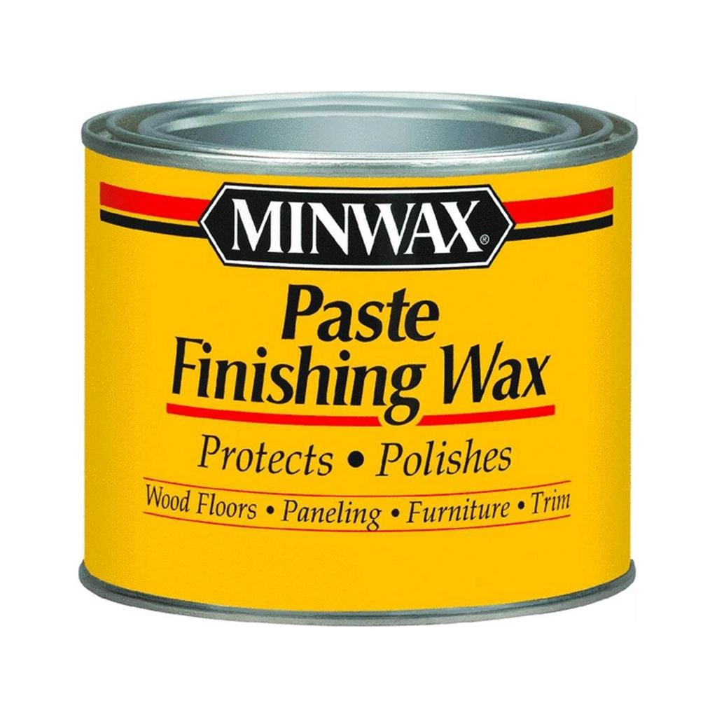 Paste Floor Waxes For Hardwood Floors: Minwax Paste Wax- Clear Or Dark- 1 Lb. -Furniture Use W