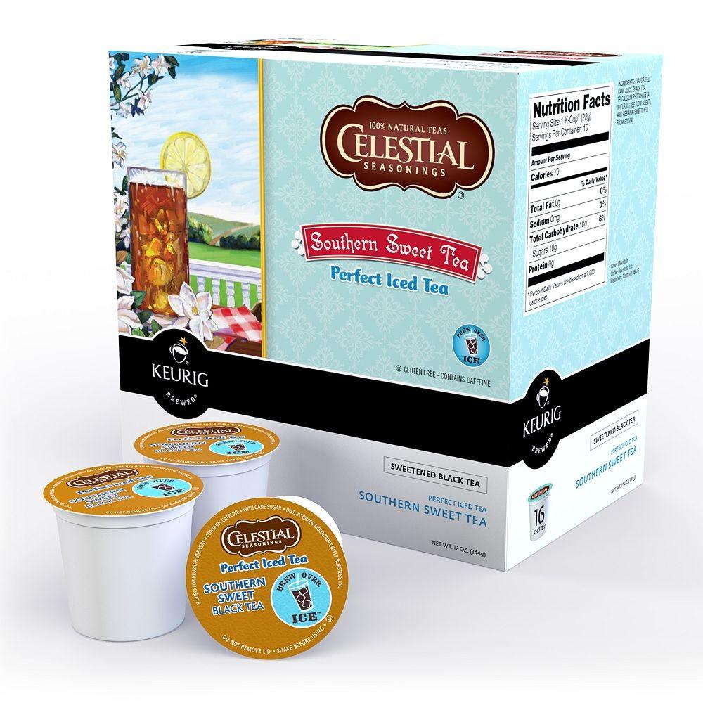 Keurig Celestial Seasonings Perfect Iced Tea K Cups Ebay