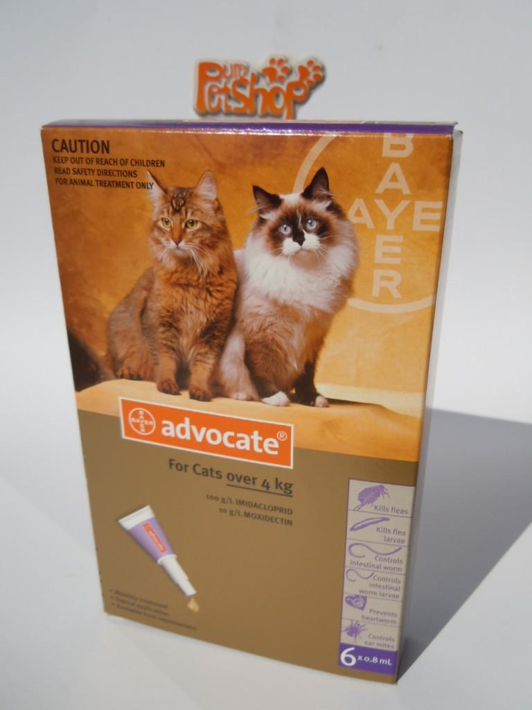 Advocate Flea Treatment Cats Mince His Words