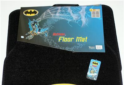 Batman The Dark Knight Dc Comics Car Truck Foor Mat Set Ebay