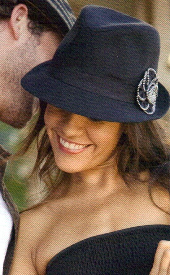 7c87b95d7a6d6 Dorfman Pacific Scala Womens Linen Fedora Hat One Size on PopScreen