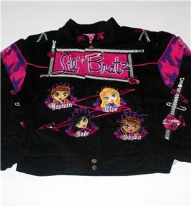 BRATZ MGA ENTERTAINMENT Fashion DOLLS Prep Rebels GIRLS YOUTH JACKET L XL 2XL