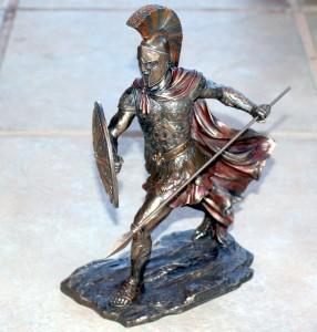 Veronese Art Greek Trojan Warrior Hoplite Achilles Statue Figure