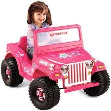 Fisher Price Power Wheels Barbie Jeep 746775064457