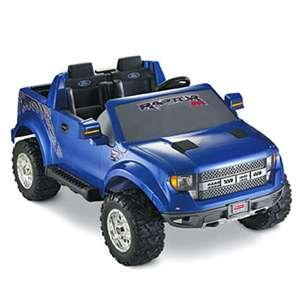 fisher price power wheels ford raptor f 150 ride on blue local pick up only ebay. Black Bedroom Furniture Sets. Home Design Ideas