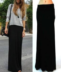 60ff57e94 Black Tight Maxi Skirt - Redskirtz