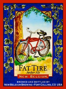 "Stores That Accept Paypal Credit Online >> Fat Tire Amber Ale Logo 17"" Beer Sign Bar Poster - Neon & Tin Sign Dealer 