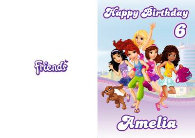LEGO® Friends: The BFF Book is our personal scrapbook where you'll get to know a little bit about us and all of the things we like to do. Lego Friends. Create a card with your favorite Friends. Dance Moves: Best Friends Forever. It's Emma and her animal friends!