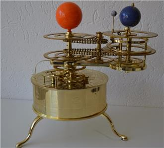 brass solar system model - photo #12