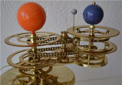 brass solar system model - photo #27