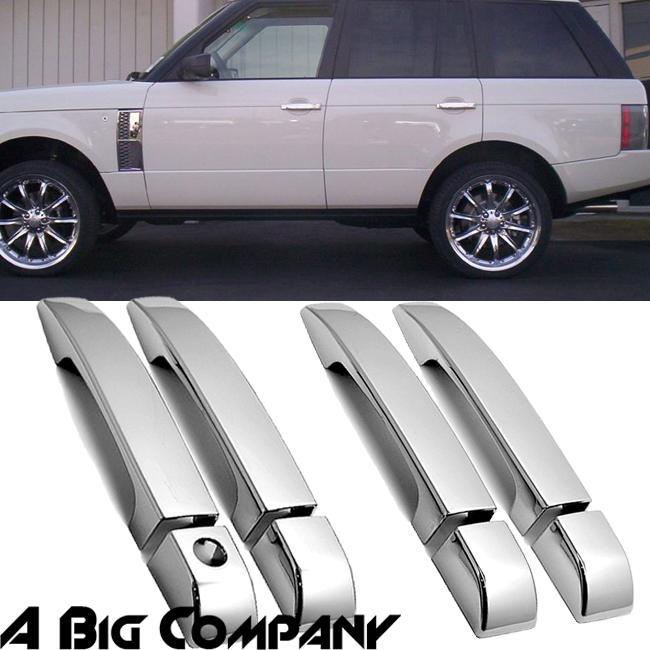 03 09 Land Rover Range Rover HSE Mirror Chrome Door Handle Covers Exterior Trim