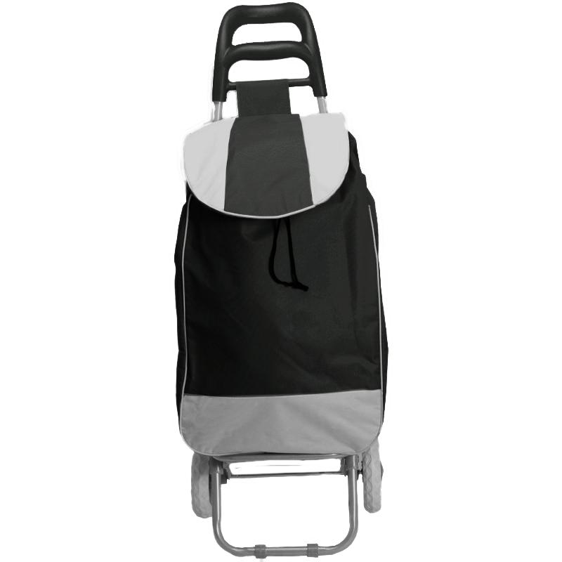 3 colors easy step shopping trolley cart carry bag with 2 wheels can stand new ebay. Black Bedroom Furniture Sets. Home Design Ideas