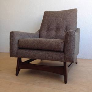 Mid Century Modern Adrian Pearsall Lounge Arm Chair Craft