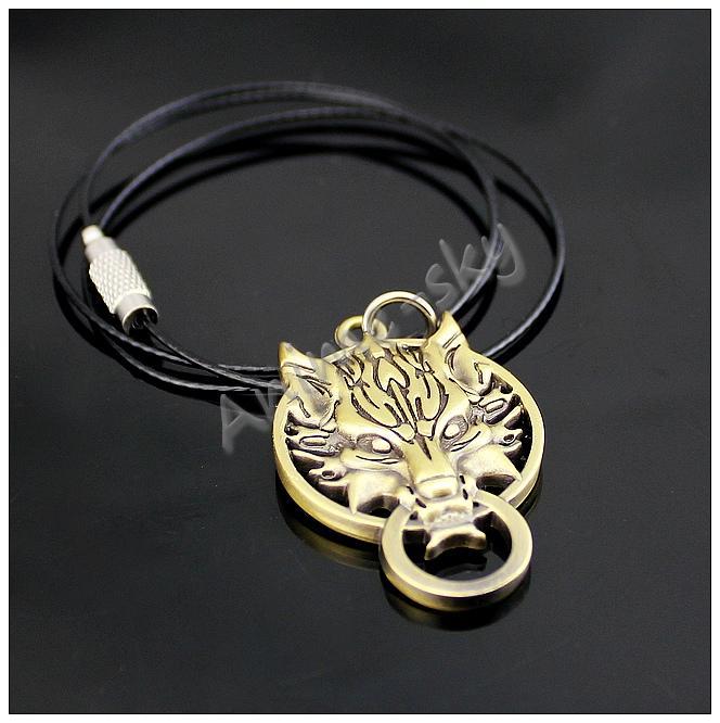 Wolf totem necklace - photo#43